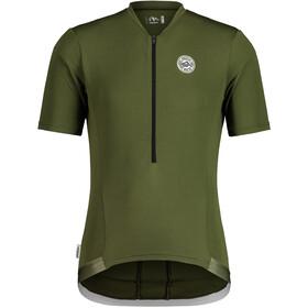 Maloja MannstreuM. 1/2 Short Sleeve Bike Jersey Men, Oliva